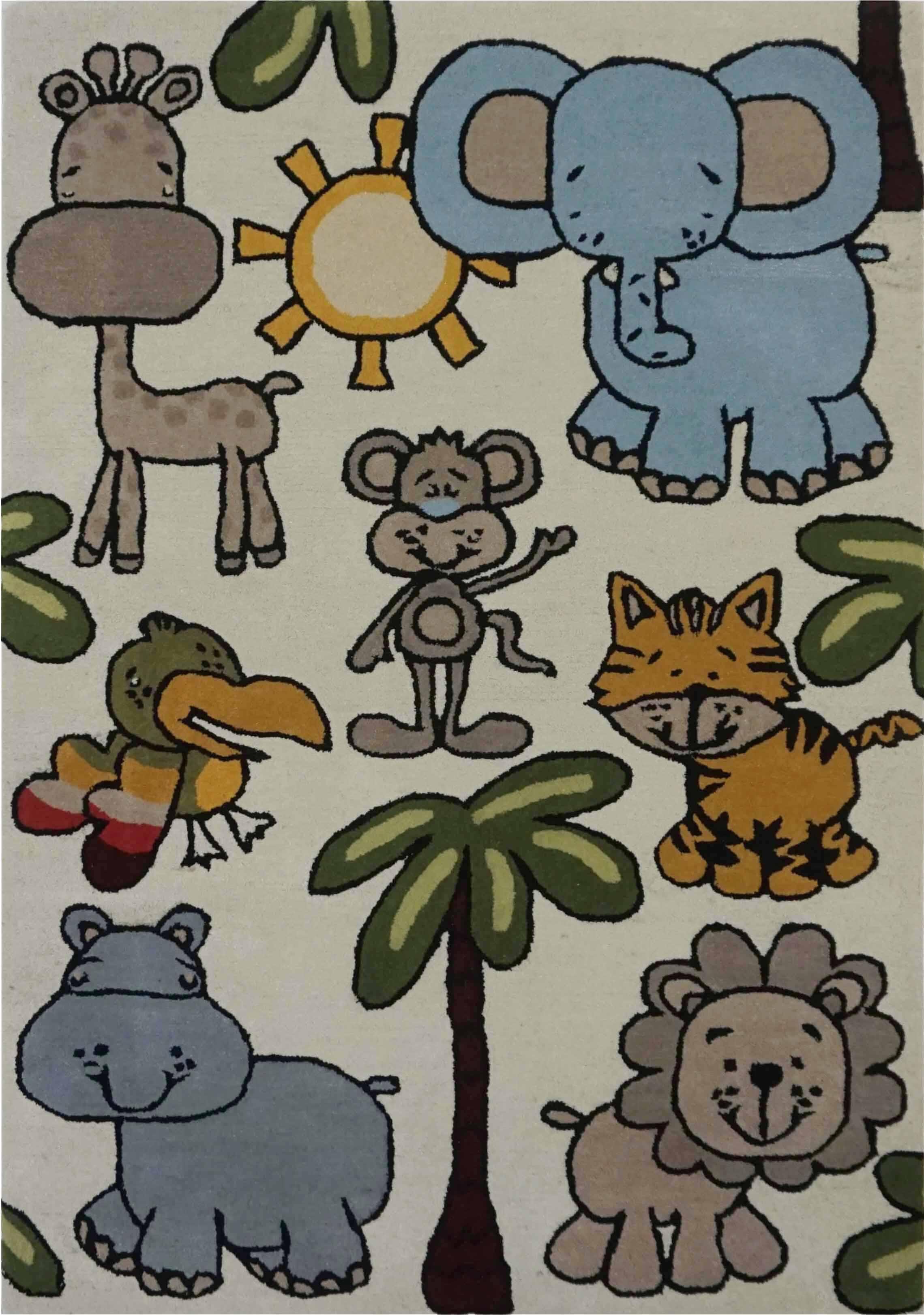 KIDS ANIMAL (BEIGE)