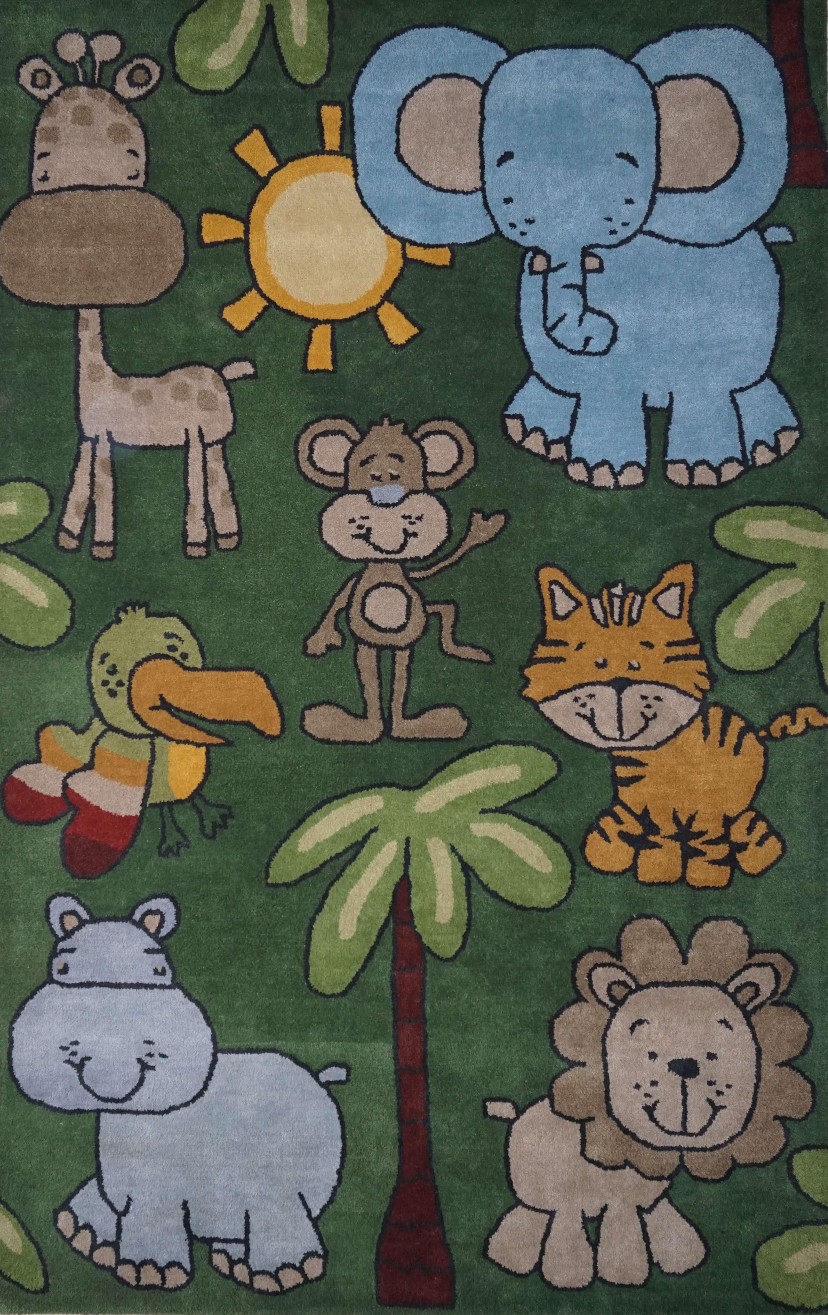 KIDS ANIMAL (GREEN)